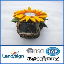 2015 Cixi New Solar Colorful Resin Flower Light Grass For Garden Decorait Solar XLTD-508 outdoor laser light show