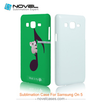 Best seller balnk sublimation phone housing for Samsung On 5