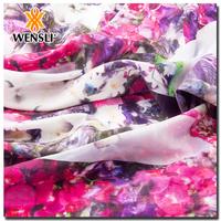 China Wholesale Merchandise Patterned Silk Fabric