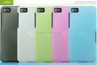 2014 Snow jade series colorful mobile phone PC hard transparent case for blackberry z10