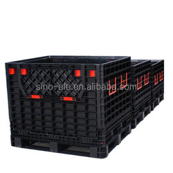 foldable crates for transportation and storage