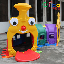 Children Plastic Playful Train Tunnel