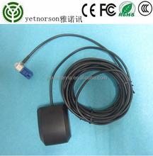 OEM smooth GPS antenna 1575 auto gps antenna with sticker