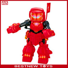 New product plastic robot toys kids educational toys use robot for sale
