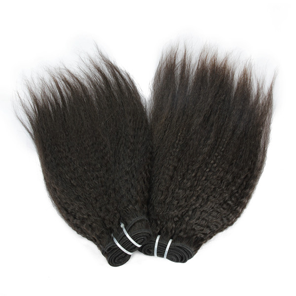 Plein Cuticule Cheveux Humains Mlaysian Kinky Droite 8A Vierge Remy Cheveux