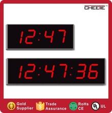 China Supply Digital Wall Digital Countdown Clock LED Wall Clock Big Size