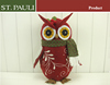 12 inch St.Pauli Factory Development Christmas cartoon owl doll