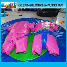Funworld 2015 Pink Sumo Suit, Adult Inflatable Sumo Wrestling Suits For Sale