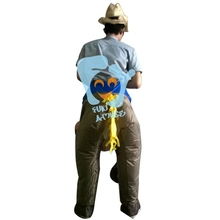 Halloween Funny Adult Inflatable Horse Costume