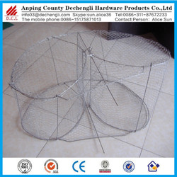 hot dipped galvanized deep sea bottom Lobster cage