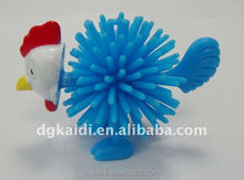 Hot sale promotional gift funny chicken shape animal figure toy