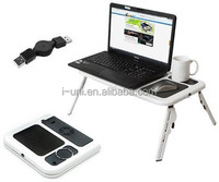 Fold-able Smart PC/Laptop/Monitor Table Stand with 3 USB Hubs