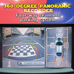 2015 360 degree vehicle camera , Univeral car front camera , Newest 360 degree parking system