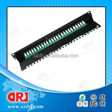 cable making equipment Rj11 Utp 25 port patch panel,voice patch panel