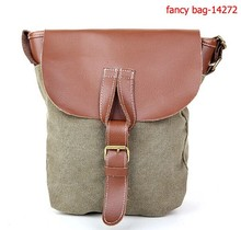 New Europe style canvas cross body bags messenger bags for lady