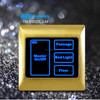 RS485 Network Smart Control Light Switch / Smart Home Touch Light Switch