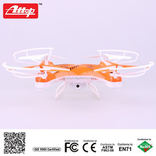 Attop 4channel 2.4g HD camera rc drone with camera