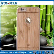 2015 New product bamboo case for iPhone 6 / 6 plus , bamboo phone case for iPhone