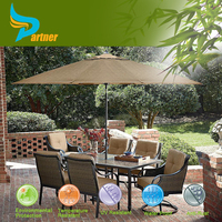 Garden Parasol Beach and Swimming Pool Umbrella / Large Cheap Aluminum Patio Umbrellas