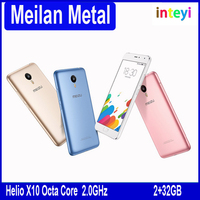 Original MEIZU MEILAN METAL 4G LTE mobile phone 5.5'' 1920*1080 Helio X10 Octa Core Flyme 5 OS 2GB 16GB/32GB 13.0MP mTouch 2.1