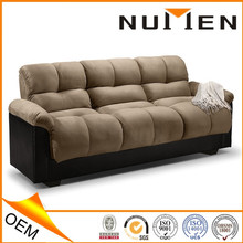 Living Room Japanese Style Fabric Futon Sofa Bed