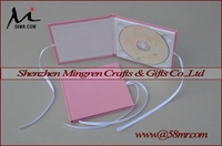 Cheap Fabric Linen Cloth Velvet CD DVD Book Holder