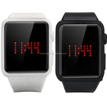 Cool LED Touch Watch - 85 RED LED Display, Adjustable 240mm Wrist Strap, Date, Time