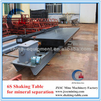 gold dust concentration shaking table