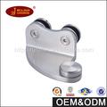 Hardware de la puerta de acero inoxidable construcción Frameless pared Monte cristal