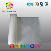 vacuum texture food film bags/vacuum sealer saver rolls with Smooth side and Channel/embossed Side