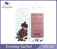 Various scented room diffusers promocional regalo paper air freshener