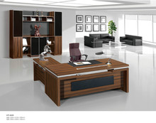 HT-626 Office Furniture Wooden L Shaped Executive Desk