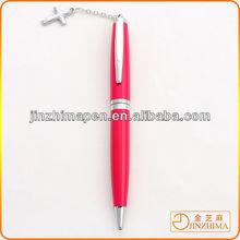 Novel design Cross type diamante pen