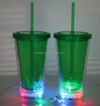 LED double wall cup