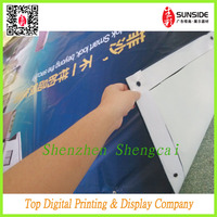 2014 hanging car advertising banner for house
