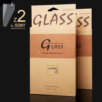 "JJL Tempered Glass Screen Protector For Sony Xperia Z2 (0.3mm 5.2"" 2.5D 9H HD Clear)"