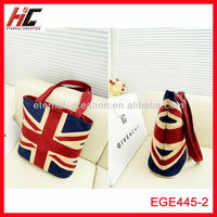 Unique shopping bag with uk flag