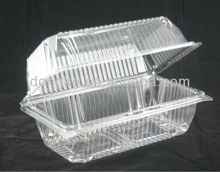 PET plastic food packaging box container manufacturer
