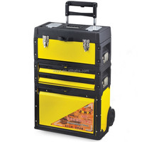 Combined Type Plastic Iron Trolley Tool Box