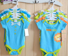 lovely pure cotton baby rompers wholesale baby clothes