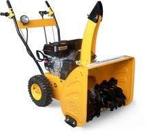 6.5hp 4.8KW/196cc 2 wheels mini snow blower,EPA EURO-2 cleaning garden tool equipment