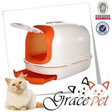 Enclosed Cat Pan / large Litter Box