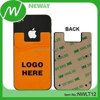 Free Sample 3M Sticker Smart Wallet Mobile Card Holder