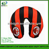 Offset print fashion design u shape travel neck pillow