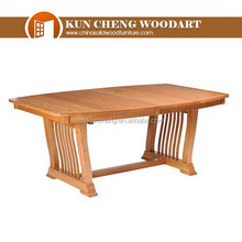 Solid wooden dining sets/Farm Table Dining Table Rustic Cowboy/Western Folk Art Primitive Furniture 14