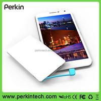 PP210 2500mah External ultra slim 6.6mm Credit card power bank