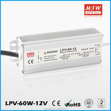 60w 12v 5a Waterproof switching Power Supply Constant Voltage with IP67