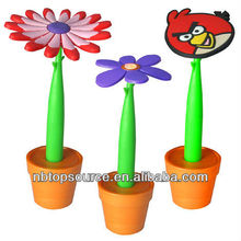 Promotional Silicone Ball Pen with Base