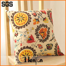 new design custom printed linen cushion cover wholesale