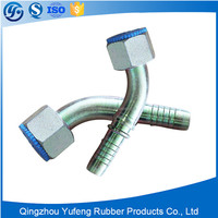 High quality stainless steel hydraulic pipe female fitting and swivel joint